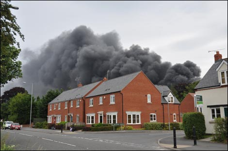 Bbc Hereford And Worcester People Leominster Fire