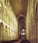 Image of the nave of Ely Cathedral from the west