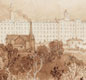 Swainson Birley Cotton Mill (with countryside) 1834