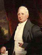Portrait sytle painting showing William Cobbett