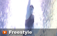 Swimming the freestyle