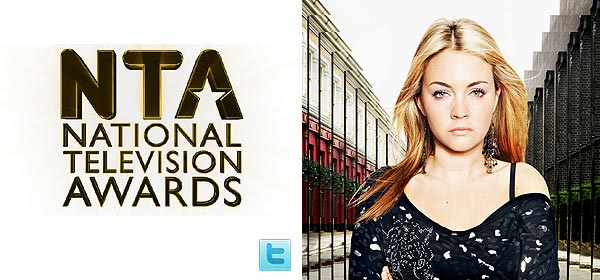 NTA news on EastEnders Twitter, and Lacey as Stacey Slater