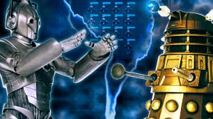Play the Daleks V Cybermen game now