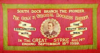 Original banner for the South Dock Branch