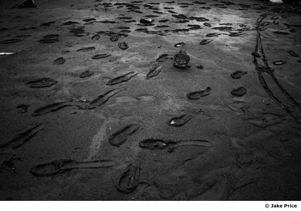 Footprints in Sendai