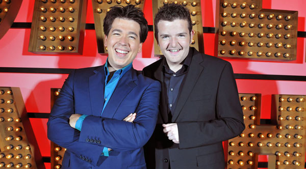 Michael McIntyre and Kevin Bridges