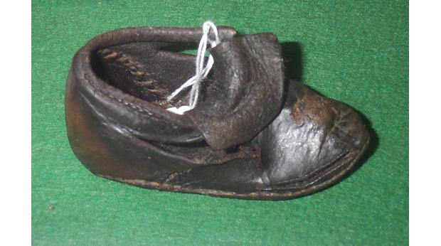 A Tudor Child's Shoe