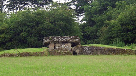 Neolithic burial chamber of the so-called 'Cotswold-Severn' type. Image by Alan Simkins