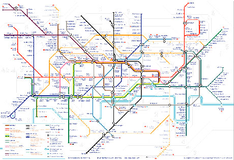 A New Tube Map from Alex - click for clearer image