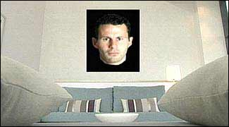 room with ryan giggs picture
