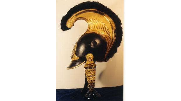 Cavalry helmet designed by Lord Byron