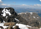 Snow on Ben Nevis, May 2008 (image courtesy of Andrew Yule)