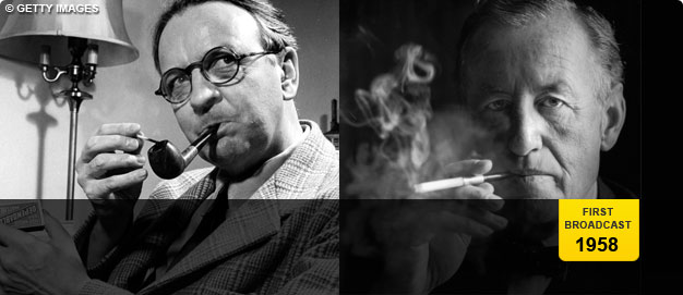 Raymond Chandler and Ian Fleming.