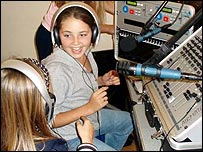 Young presenters at Future Radio