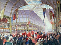 Prince Albert opens proceedings in 1857