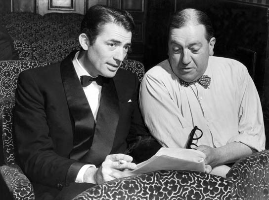 Gregory Peck and Charles Maxwell.