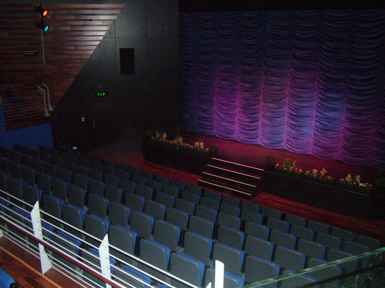 The auditorium of An Lanntair