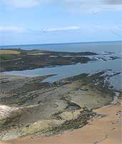 The coastline near Howick, Northumberland