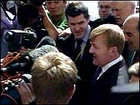Charles Kennedy surrounded in Brighton