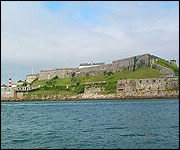 The Citadel - imposing from the sea