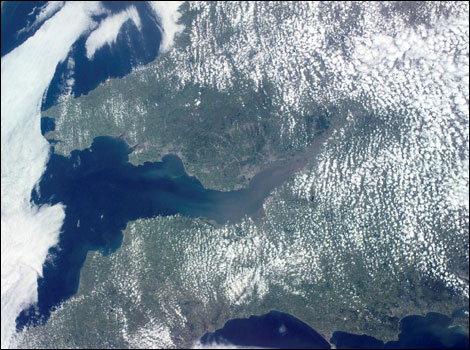 1Bristol from space - pictures from Nasa