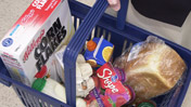 Contents of a shopping basket