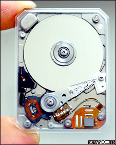 A small hard disk drive (archive photo: 2004)