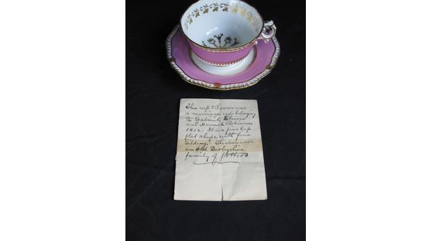 Marriage cup/teacup