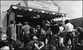 Picture: Radio Norfolk at an outside broadcast in the 1980s