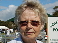 Tessa Hucklesby secretary of the Portland Sheep Breeders Group