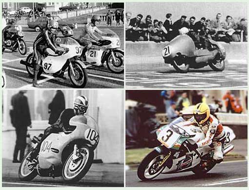 four bike montage of NW200