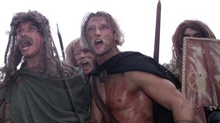 BBC Wales - History - Themes - Welsh language: Barbarians attack