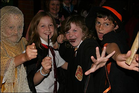 Harry Potter and the Deathly Hallows launch