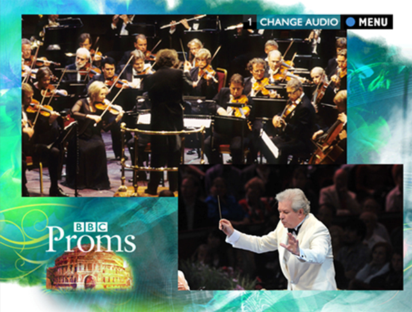 The proms from the conductor's perspective with a different shot insert.
