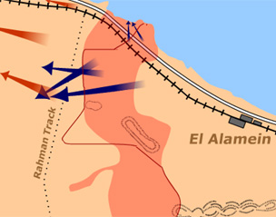 an analysis of the campaign for north africa and the battle of el alamein Literature on air power in the north african campaign has focused on how the  desert  related to morale are also included in this analysis  influenced the  performance of eighth army at the climatic battle of el alamein in october and.