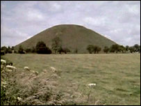 The neolithic mound of Silbury Hill