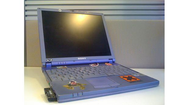 2005 sony vaio laptop