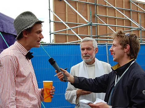 Interview with dad Will and Rev David Osborne
