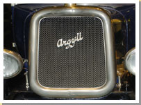 A badge from the Argyll motor company.