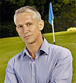 Gary Lineker presents live coverage as the PGA Golf tournament continues