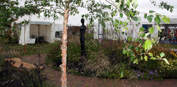 Grasses with Grace Show Garden at RHS Show Tatton Park