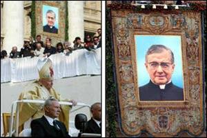 Resultado de imagen de canonización escriv
