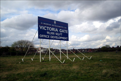 The Victoria Ground -the old home of Stoke City