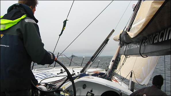 Rounding the Fastnet rock