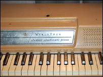 The Wurlitzer keyboard