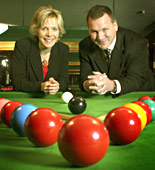 Hazel Irvine and Ray Stubbs introduce World Snooker Championship highlights