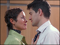 holby city gay kiss
