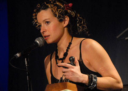 Singer Kate Rusby talking about her hero, Good Tradition recipient Nic Jones