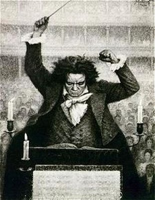 Picture of Beethoven conducting