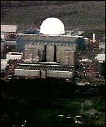 Sizewell power station from above